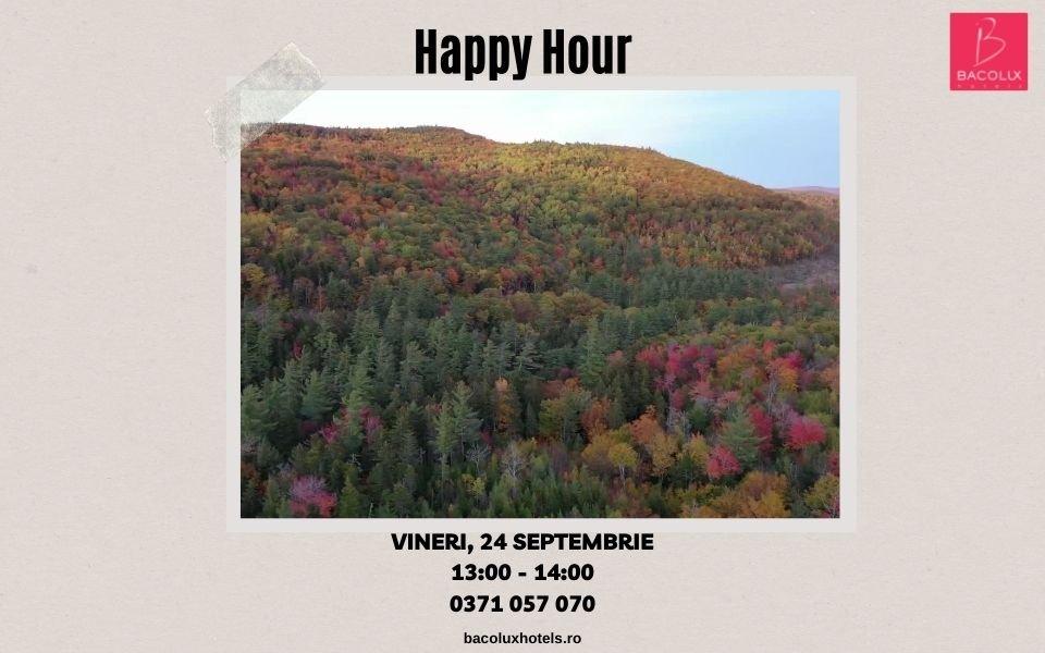 Happy Hour | 13:00 - 14:00