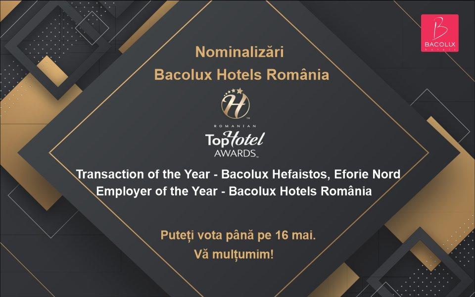 Nominalizări premii Romanian Top Hotel Awards
